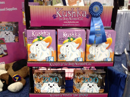 KUSHKA book rack at the ABC Kids Expo 2012